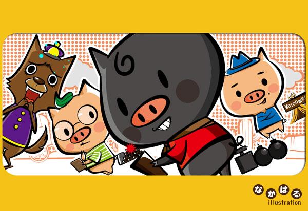 イラストレーター・キャラクターデザイナー/なかむらはるこ