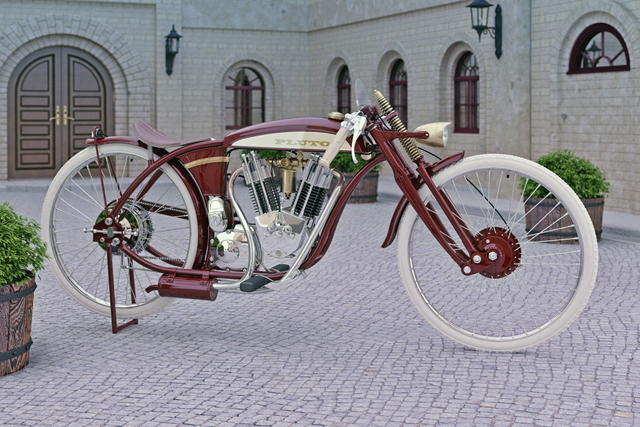 OldStyle MotorCycle「PLUTO」